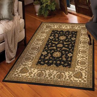 Carolina Weavers American Heirloom Collection Osman Onyx Area Rug (5'3 x 7'6)
