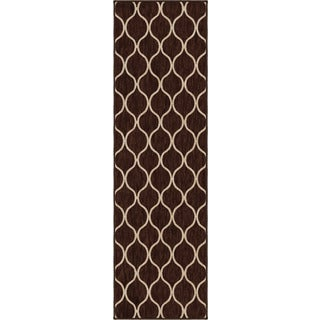 "Simplicity Pyrenees Brown Runner (2'3"" x 8')"