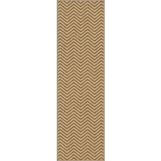 Carolina Weavers Simplicity Harrington Gold Runner (2'3 x 8')