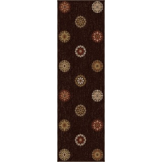 "Harmony Aracadia Brown Runner (2'3"" x 8')"