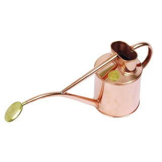 English Garden Haws 2 Pint Indoor Copper Pot Waterer with Gift Box