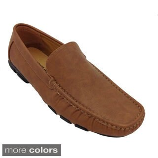 Pleasure Island Men's Casual Driving Moccasins (As Is Item)