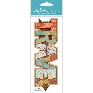 Jolee's Boutique Title Wave Dimensional StickersTravel