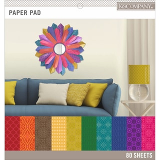 K&Company Basics 12inX12in Paper Pad 80/PkgDarks, 20 Designs/4 Each