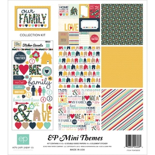 Echo Park Collection Kit 12inX12inOur Family