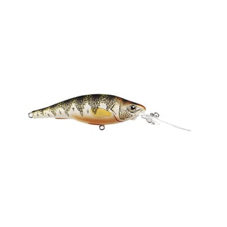 Koppers Live Target Yellow Perch Shallow Dive Crankbait 3.625-inch Natural/ Matte