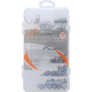 South Bend 200 Piece Tackle Assortment