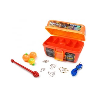 South Bend Worm Gear 88 Piece Tackle Box Kit