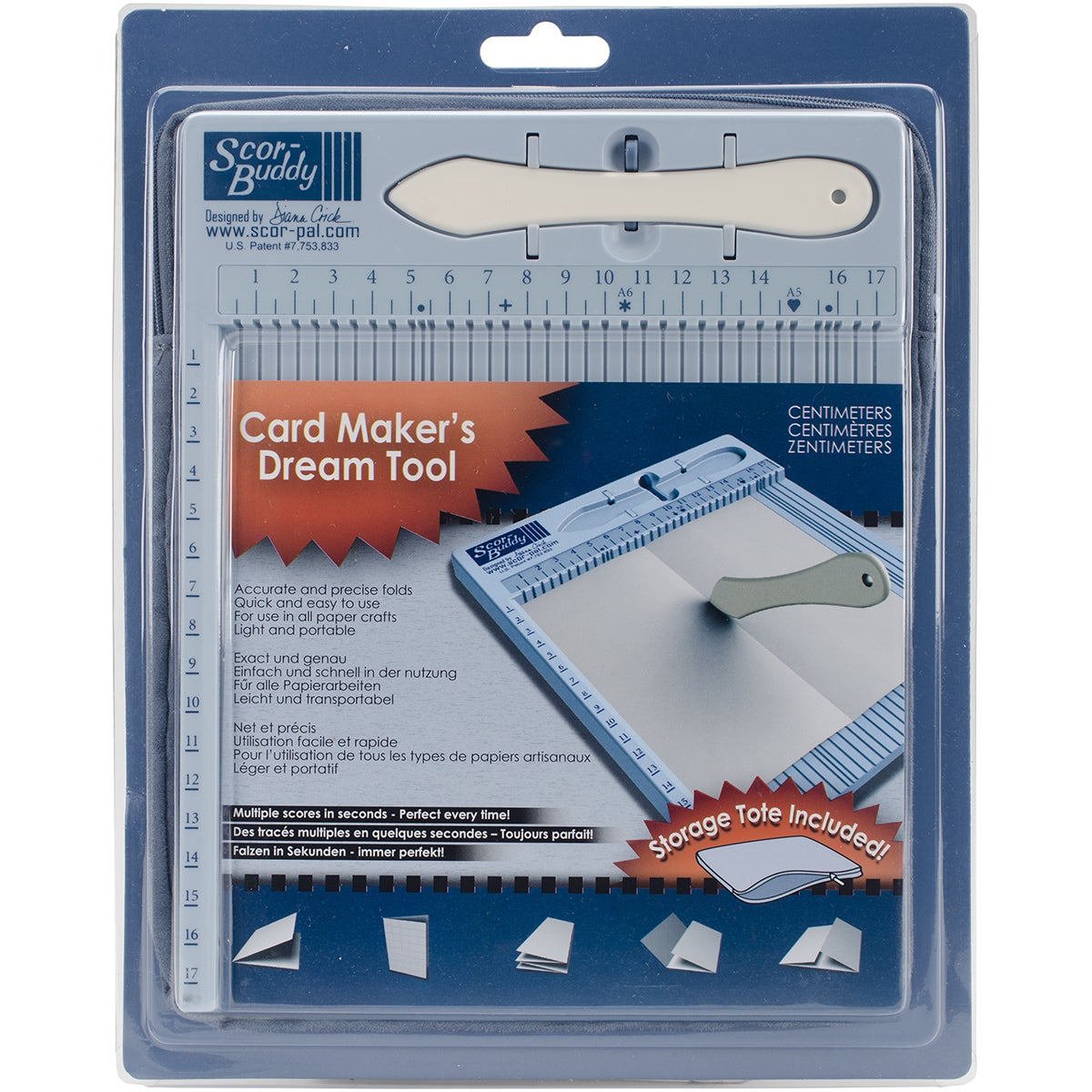 Scor-Pal ScorBuddy Mini Scoring Board 24cmx19cmMetric (Me...