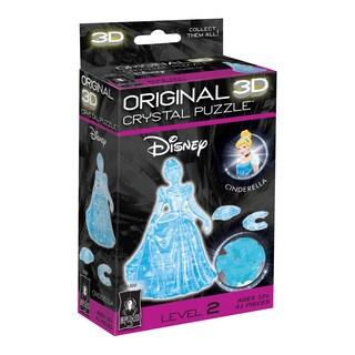 BePuzzled 3D Crystal Disney Cinderella 41-piece Puzzle