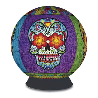 BePuzzled 3D Sphere Day of the Dead 240-piece Puzzle