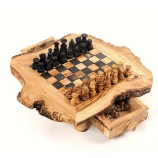 Handmade Large Olive Wood Chess Board Set (Tunisia)|https://ak1.ostkcdn.com/images/products/10186854/P17312534.jpg?impolicy=medium