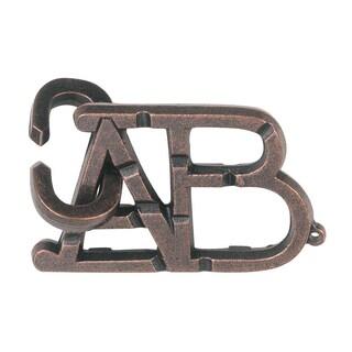 BePuzzled Hanayama ABC Level 1 Cast Puzzle