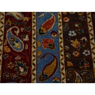 Hand-knotted Kashkuli Boteh Design Oriental Rug (2'8 x 5'5)