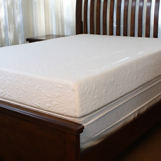 sinomax 8 inch queen short size recreational vehicle memory foam mattress free shipping today. Black Bedroom Furniture Sets. Home Design Ideas