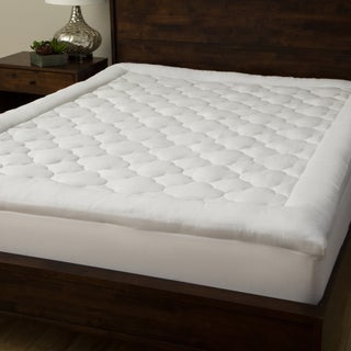 Grandeur Collection Overfilled 300 Thread Count Cotton Mattress Pad (4 options available)
