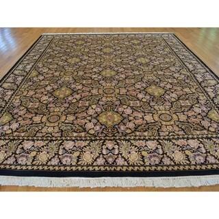 Handmade Botanical Pak Persian 300 KPSI Oriental Rug (9'2 x 11'9)