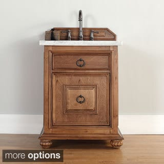 James Martin 26-inch Single Brown Bathroom Vanity