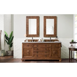Mykonos 72-inch Cinnamon Double Vanity Cabinet