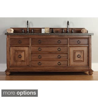 James Martin Brown 72-inch Double Bathroom Vanity