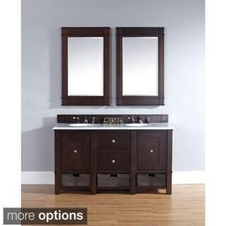 James Martin 60-inch Mahogany Bathroom Vanity