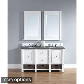 James Martin 60-inch White Bathroom Vanity