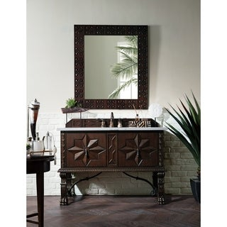"""Balmoral 48"""" Single Vanity Cabinet, Antique Walnut (More options available)"""