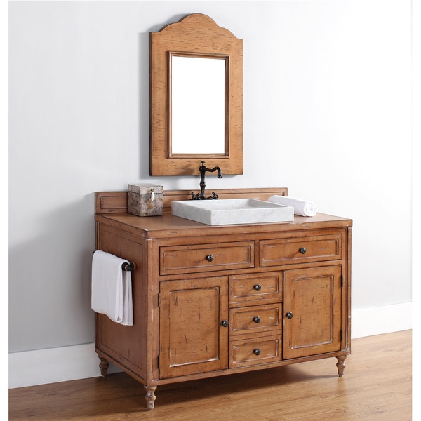 James Martin Furniture 48 Inch Single Driftwood Patina Bathroom Vanity Cabinet Free Shipping