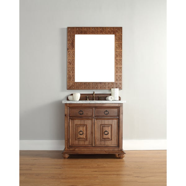 James Martin 36-inch Single Brown Bathroom Vanity