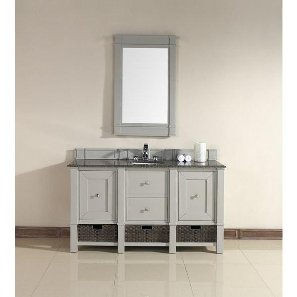 Shop James Martin 60 Inch Single Grey Bathroom Vanity Free