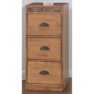 Sunny Designs Sedona 3-Drawer File Cabinet