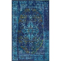 French Toile 5x8 - 6x9 Rugs