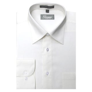 Link to Giovanni Men's Off-white Convertible Cuff Dress Shirt Similar Items in Shirts
