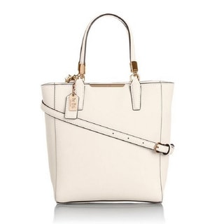 Coach Madison Saffiano North South MINI Tote Crossbody Bag