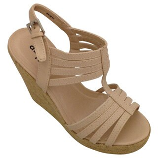 Women's Espadrille Strappy Wedge Sandal