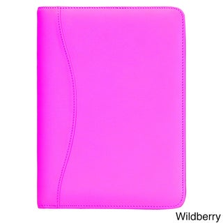 Royce Leather Junior Writing Genuine Leather Padfolio (Option: WildBerry)