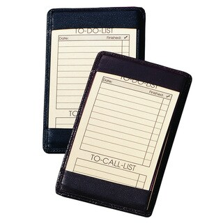 Royce Leather Note Jotter in Genuine Leather