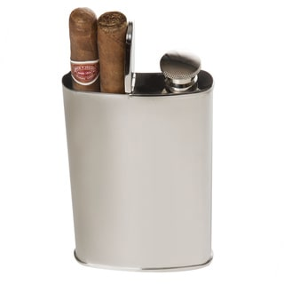 The Wingman Flask and Cigar Holder