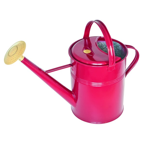 English garden haws traditional 39 peter rabbit 39 2 3 gallon outdoor metal watering can free - Gallon metal watering can ...