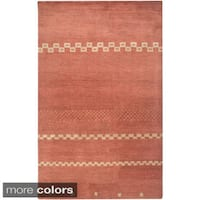 Rizzy Home Mojave Collection Hand-tufted Wool Rug (5' x 8')