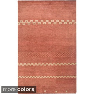 Rizzy Home Mojave Collection Hand-tufted Wool Rug (2' x 3')
