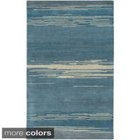Rizzy Home Mojave Collection Hand-tufted Wool Area Rug - 3' x 5'