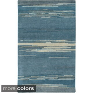 Rizzy Home Mojave Collection Hand-tufted Multi-colored Wool Rug (2' x 3')
