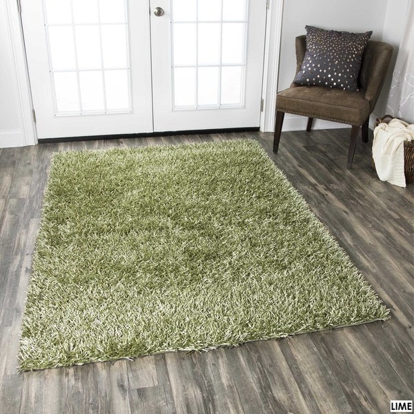 Rizzy Home Kempton Collection Hand-tufted Polyester Rug (5' x 7') - 5' x 7'