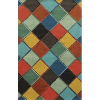 Rizzy Home Gillespie Avenue Hand-tufted Multi-Colored Wool and Viscose Accent Rug - Multi-color - 8' x 10'
