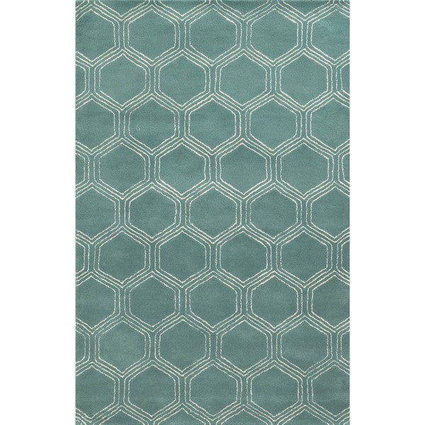 Shop Rizzy Home Gillespie Avenue Hand-tufted Wool And