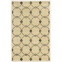 Rizzy Home Hand-tufted Wool and Viscose Gillespie Avenue Accent Rug - 9' x 12'