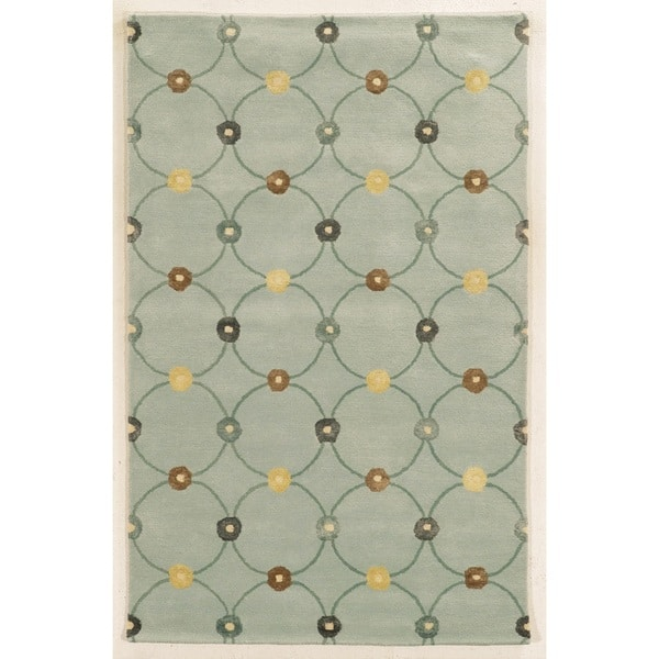 Rizzy Home Hand Tufted Wool And Viscose Gillespie Avenue Accent Rug 9 X 12 On Sale Overstock 10187431