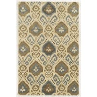 Rizzy Home Gillespie Avenue Hand-tufted New Zealand Wool Accet Rug (9' x 12')