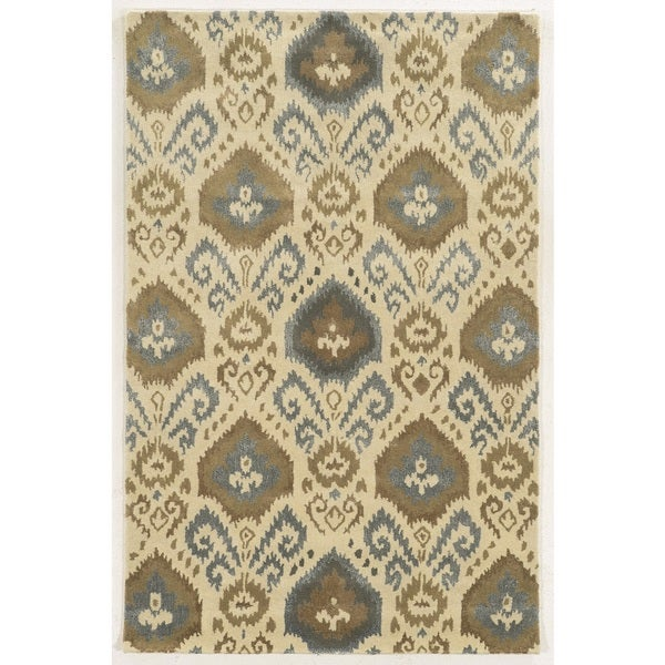 Rizzy Home Gillespie Avenue Hand-tufted Wool Accent Rug (3' x 5') - 3' x 5'